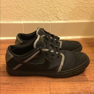 Nike Suketo Athletic Shoes Black 511847-001 Rare